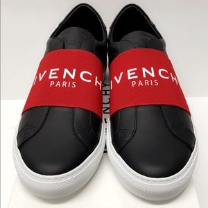 Brand New Givenchy Logo Elastic Leather Sneaker